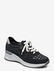 Rieker - N4326-14 - low top sneakers - blue - 0