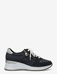 Rieker - N4326-14 - low top sneakers - blue - 1