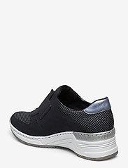 Rieker - N4362-14 - low top sneakers - blue - 2