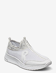 Rieker - N5054-80 - slip-on sneakers - weiss - 0