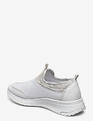 Rieker - N5054-80 - slip-on sneakers - weiss - 2