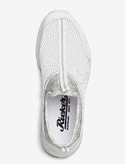Rieker - N5054-80 - slip-on sneakers - weiss - 3