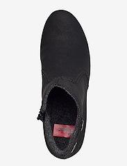Rieker - Y8062-00 - wysoki obcas - black - 3
