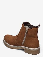 Rieker - Y9454-22 - niski obcas - brown - 2