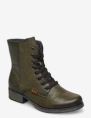 Rieker - Y9718-52 - wysoki obcas - green - 0