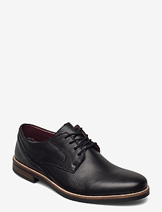 13519-00 - laced shoes - black