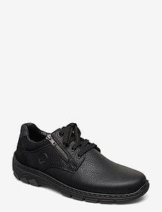 19921-00 - buty sznurowane - black
