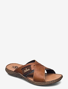 22099-25 - sandales - brown combination