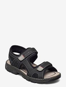 26156-02 - sandalen - black