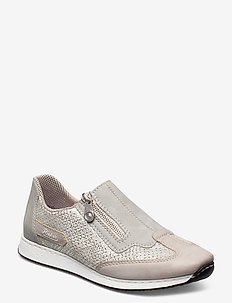56067-81 - slip-on sneakers - white combination