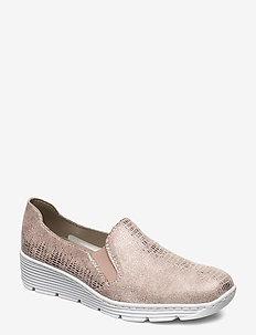 587B0-62 - slip-on sneakers - beige