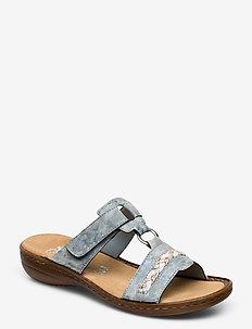 60888-00 - platte sandalen - blue