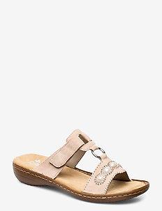 608A3-31 - flat sandals - rosa