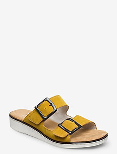 63694-68 - flat sandals - yellow