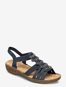 65869-14 - flat sandals - blue
