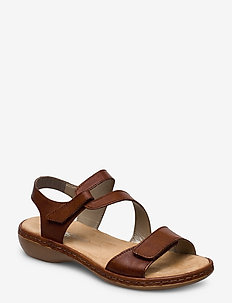 659C7-00 - flat sandals - brown