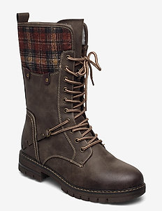 97120-45 - høye boots - brown