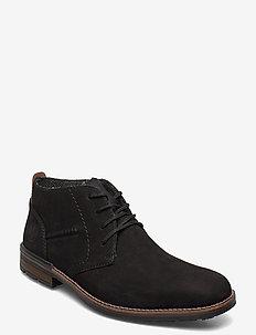 B1330-00 - desert boots - black