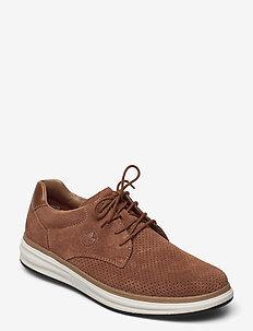 B6316-20 - low tops - brown