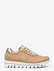 L2826-62 - låga sneakers - beige