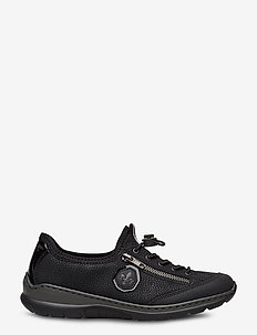 L3263-00 - låga sneakers - black