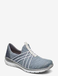 L32K1-12 - slip-on sneakers - blue