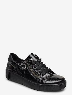 M6404-00 - sneakersy niskie - black