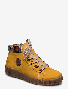 M6411-68 - flat ankle boots - yellow