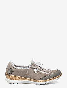 N42F1-40 - låga sneakers - grey