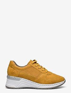 N4317-68 - låga sneakers - yellow