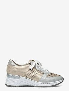 N4326-14 - låga sneakers - metallic