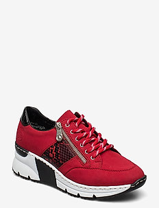 N6322-33 - sneakersy niskie - red