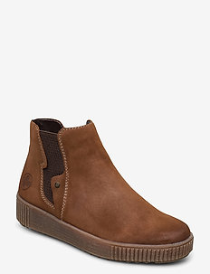 Y6461-24 - chelsea boots - brown