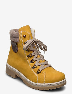 Y9430-68 - flat ankle boots - yellow