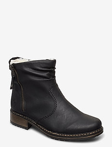 Z6841-01 - ankle boots with heel - black
