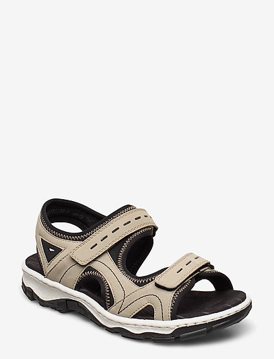 68866-90 - flache sandalen - beige