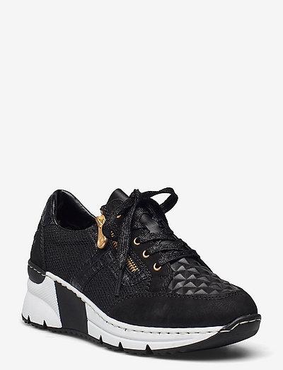 N6303-00 - chunky sneaker - black