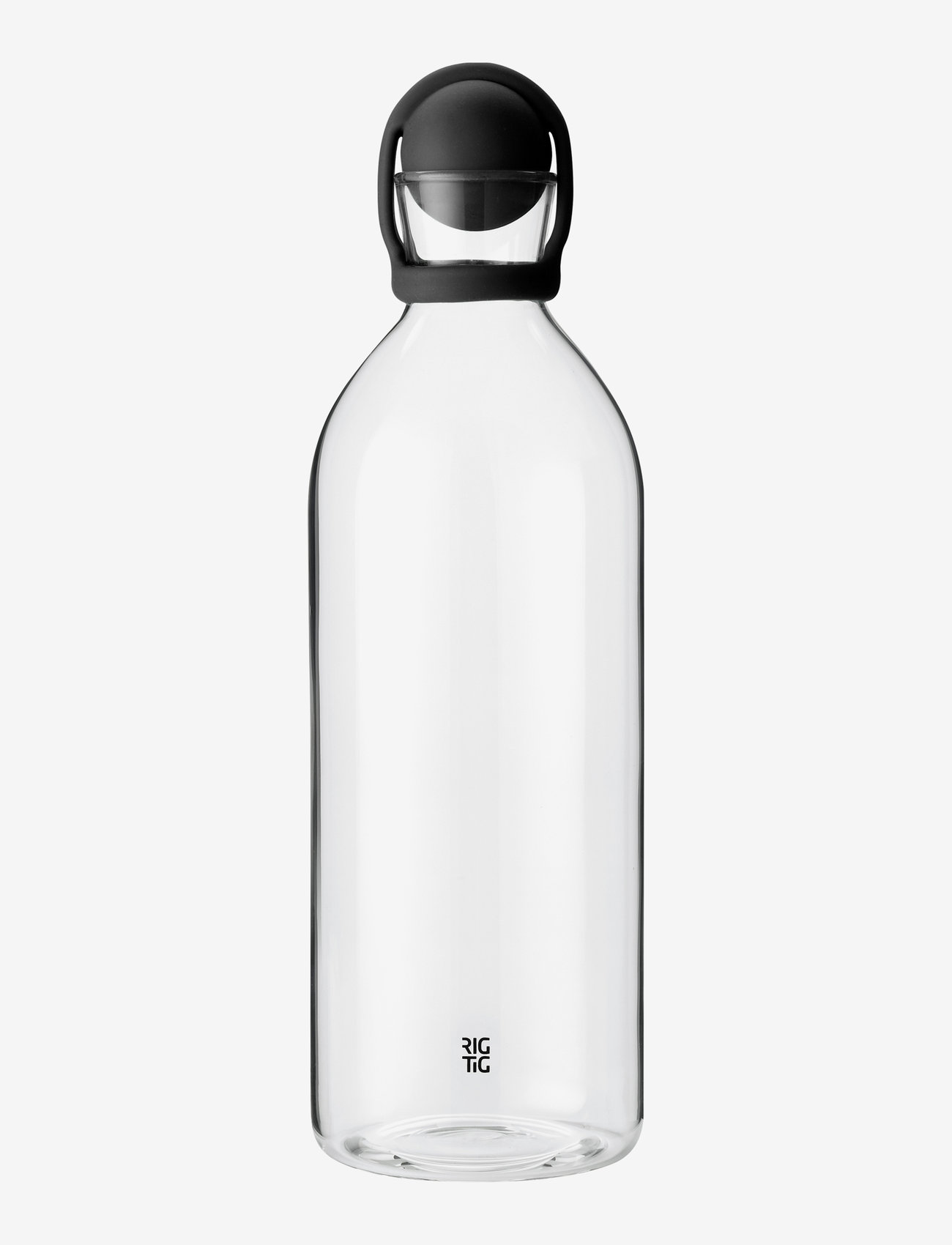 RIG-TIG - COOL-IT water carafe, 1.5 l. - vesikannut ja -karahvit - black - 1