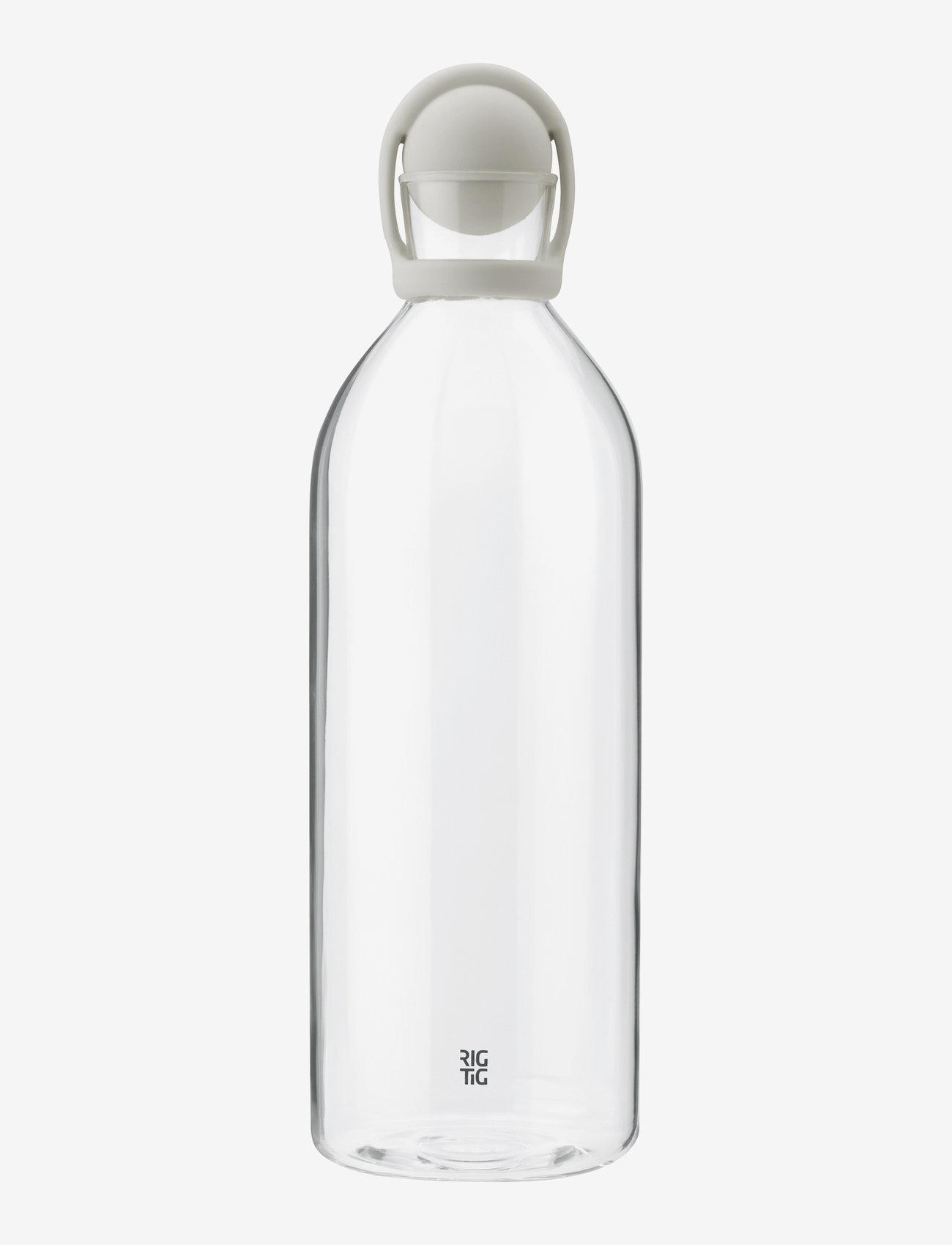 RIG-TIG - COOL-IT water carafe, 1.5 l. - vesikannut ja -karahvit - light grey - 1
