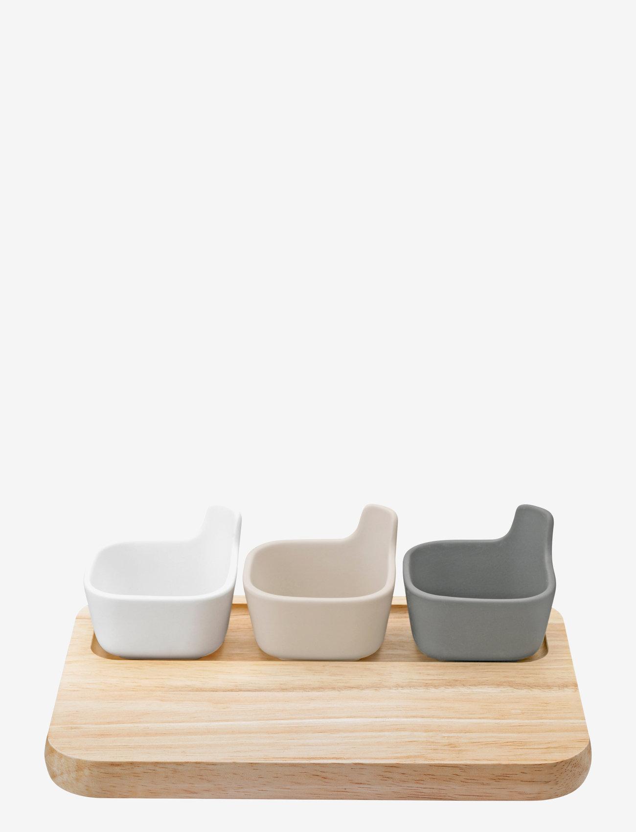 RIG-TIG - TAPAS serving set - tapas-laudat ja -setit - wood - 0