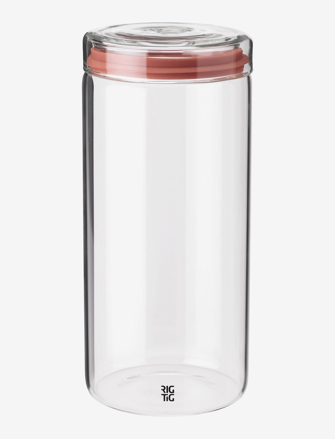 RIG-TIG - STORE-IT storage jar - keittiöpurkit - clear - 0