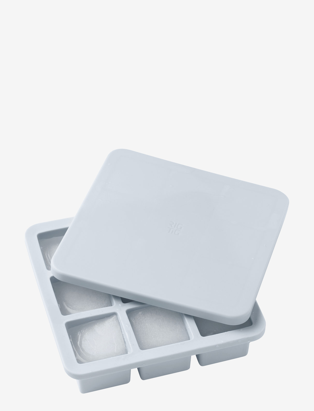 RIG-TIG - FREEZE-IT ice cube tray with lid - isbiter og isbrett - light blue - 0