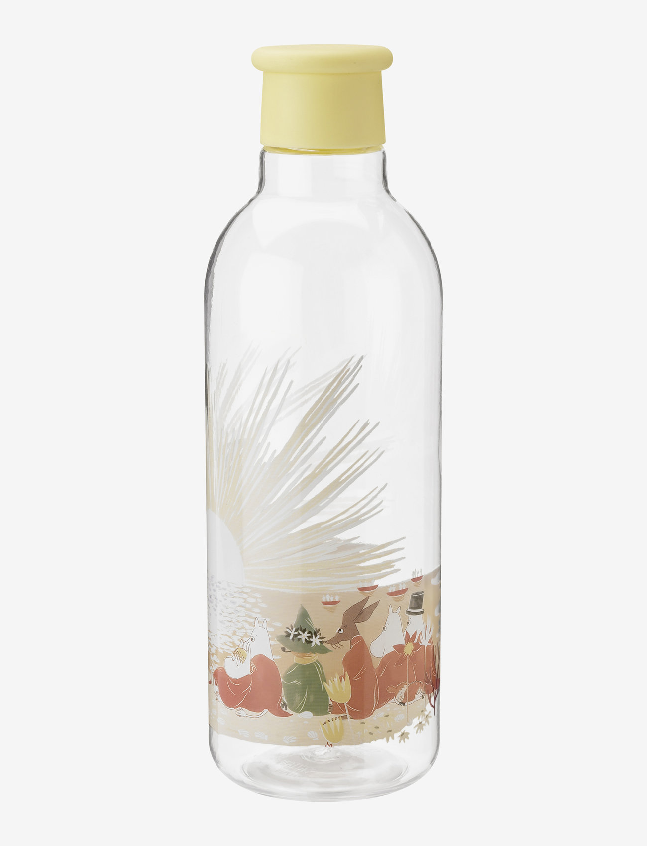 RIG-TIG - DRINK-IT water bottle, 0.75 l. Moomin - vesi- ja lasipullot - yellow - 0