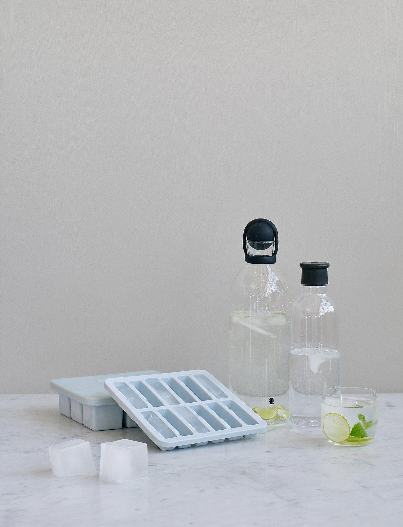 RIG-TIG - FREEZE-IT ice cube tray with lid - jääpalat ja jääpalamuotit - light blue - 0