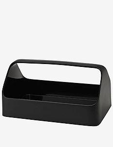 HANDY-BOX  storage box- black - purkit ja laatikot - black