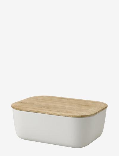 BOX-IT butter box - smøreske - light grey