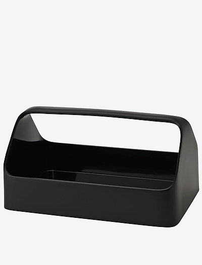 HANDY-BOX  storage box- black - glasskrukker - black