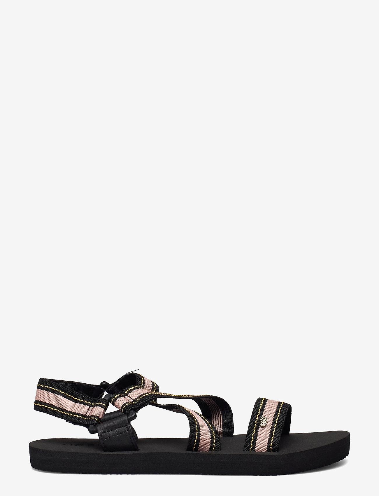 Rip Curl - P-LOW PISMO - hiking sandals - black/tan - 1