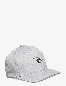 TEPAN WELD FLEXFIT CAP - flat caps - light grey