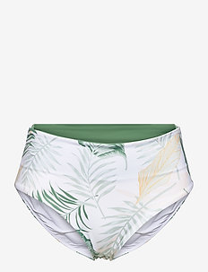 COASTAL PALMS ROLLUP GOOD - bikiniunderdeler - white